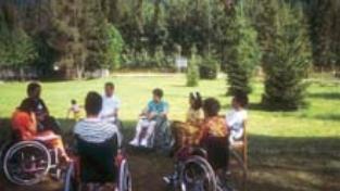 Disabilità dolore colorato