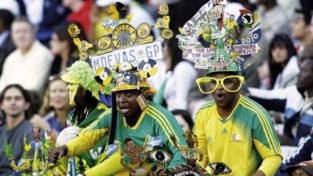Entusiasmo alla sudafricana