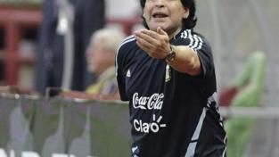Maradona in positivo