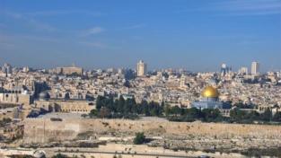 Gerusalemme in attesa dell'arrivo di Francesco