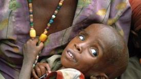 Tra 1 minuto 5 bambini moriranno di fame