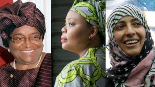 Nobel per la pace a tre donne