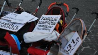 Napolitano ascolterà le famiglie numerose?