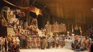 Aida, storia di giovani
