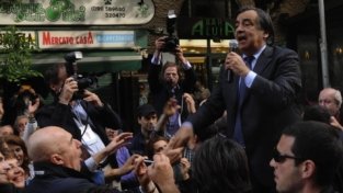 Palermo, exploit di Leoluca Orlando