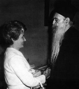 Athenagora e Chiara Lubich