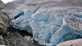 Sul ghiacciaio dell'Aletsch