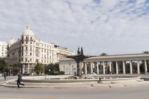 Piazza Cavour a Foggia
