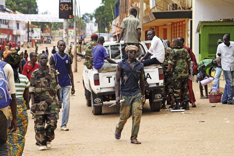Guerra in Centrafrica