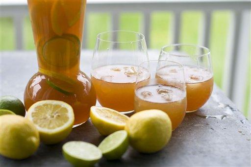Spremuta di arance e limoni
