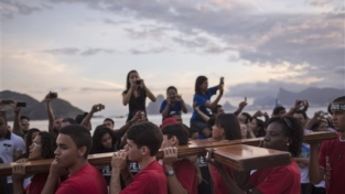 La croce della Gmg è arrivata a Rio de Janeiro