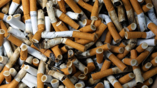 Riciclare mozziconi di sigarette