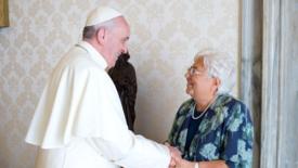 Emmaus: con il papa un ritorno alle origini
