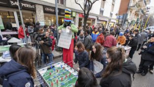Slot Mob di popolo a Trento