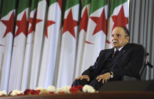 L'ex presidente algerino Abdelaziz Bouteflika