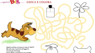 Gioca con Woff e divertiti a colorare
