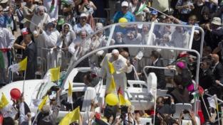 Troppo breve la visita del papa