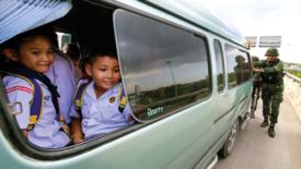 Thailandia, l'aiuto dei militari