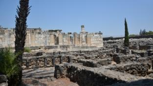 Alla scoperta della sinagoga di Cafarnao