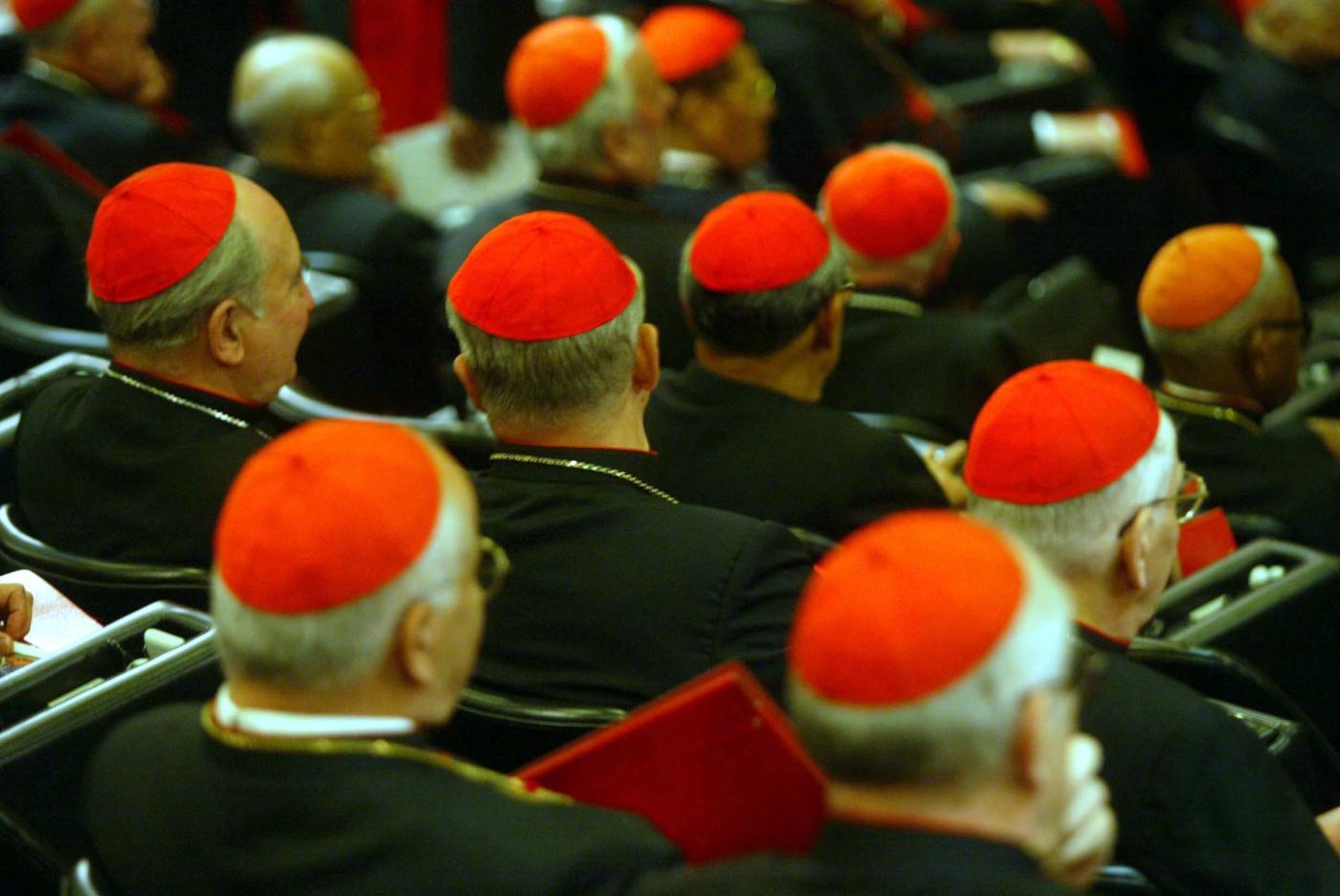 Un momento del sinodo dei vescovi