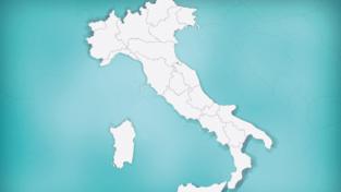 La mia mappa per l'Italia