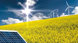 Energia rinnovabile in corsa