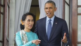 San Suu Kyi presidente o garante? Obama in Myanmar