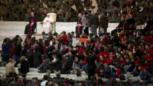 Famiglie numerose dal papa