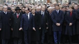 La marcia di Parigi per la pace