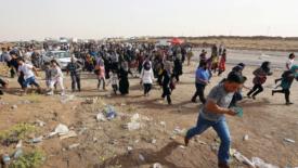 In fuga dall'Iraq