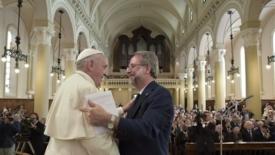 Il papa incontra i valdesi: Perdonate la Chiesa cattolica