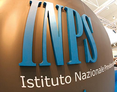 La scritta INPS