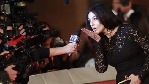 Monica Bellucci alla Festa del cinema di Roma