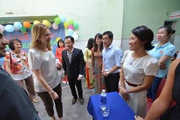 Laura Mattarella in Vietnam