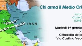 Chi arma il Medio Oriente? Incontro a Roma