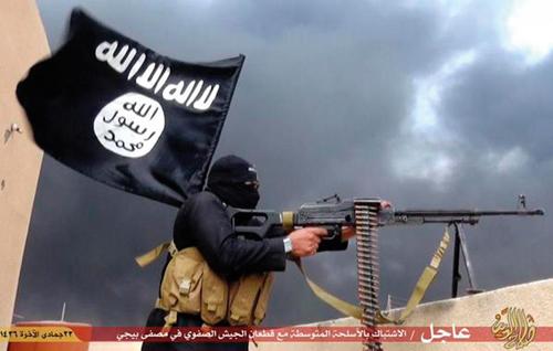 Un combattente del Daesh