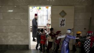 Mascherati per la festa di Purim