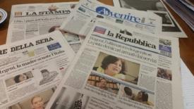 I giornali zeppi di Medio Oriente, Islam e terrorismo