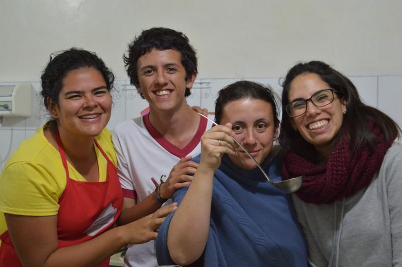 Giovani per un mondo unito in Ecuador