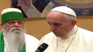 Papa Francesco e il leader dei Bektashi