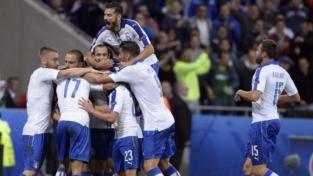 Un manto azzurro copre i diavoli rossi: Italia-Belgio 2-0