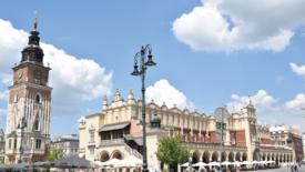 La bellezza sfrontata di Cracovia