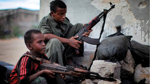 Guerrieri bambini