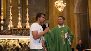La preoccupazione di alcuni cattolici per i musulmani presenti a messa