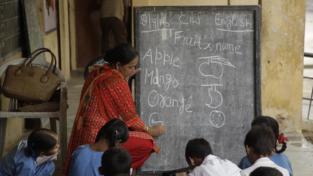 In India una festa per gli insegnanti