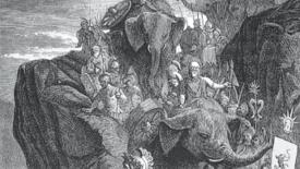 L'armata di Annibale sulle Alpi