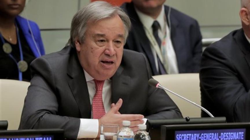 Giornata della pace, Guterres (Onu): «Serve una tregua dai conflitti»