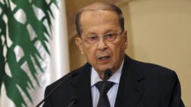 Aoun nuovo presidente del Libano