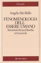 Copertina Fenomenologia dell'essere umano