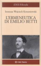Copertina L'ermeneutica di Emilio Betti